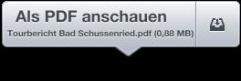 Tourbericht Bad Schussenried